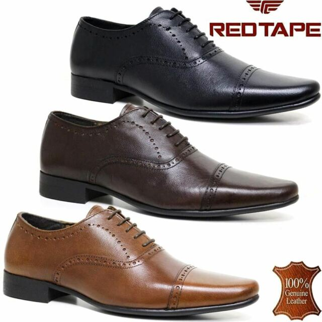 Mens Leather Shoes Lambretta Formal Lace Up Designer Branded Fashion Casual New