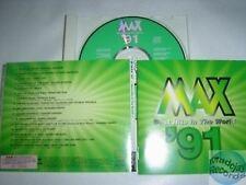 MAX HITS '91 CD PROMO JAPON MICHAEL JACKSON KAAS DION