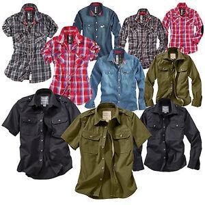 Trooper™ Raw Vintage ★ Sommer Hemd Woodcutter Lumberjack Jeans Damen und Herren