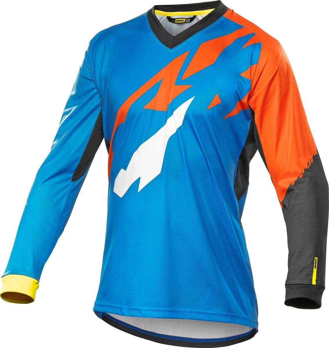 Mavic Crossmax Pro Cycling  Long Sleeve Jersey bluee orange Mtb Large  discounts and more