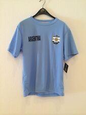 NWT Authentic Striker Argentina Light Blue Soccer T-Shirt  Size Large