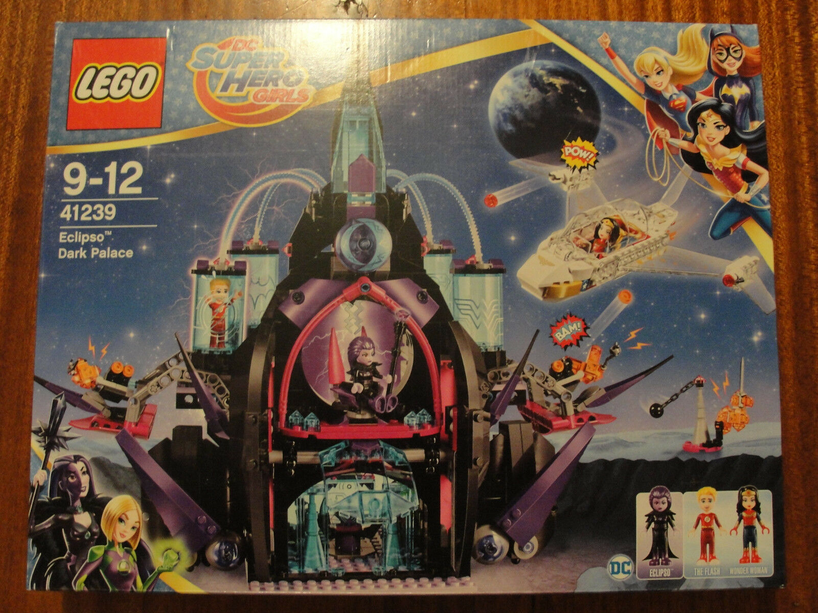 Lego 41239 DC SUPER HERO GIRLS Eclipso Dark Palace  2017  NEW - NUOVO