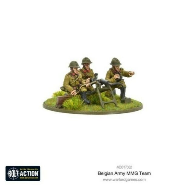 Warlord Games Bolt Action Belgian Army Infantry Squad Toys & Games ...