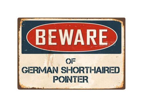 Beware of Great Dane Retro Tin Signs Metal Plate Pub Bar Art Wall Decoration