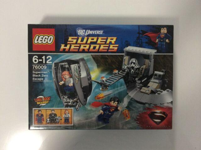 DC Comic Super Heroes Lego 76009 Superman Black Zero Escape - BN & Sealed