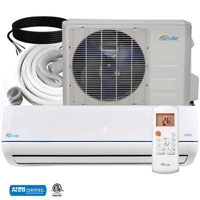 36000 BTU Ductless AC Mini Split Air Conditioner and Heat Pump 16 SEER Senville