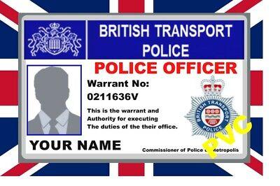 Uk Id Collector Cards British Transport Police Ebay
