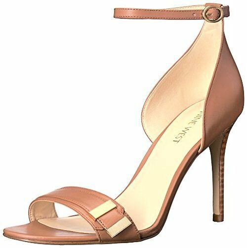 Nine West Damenschuhe Matteo Leder Dress Sandale- Pick SZ/Farbe.