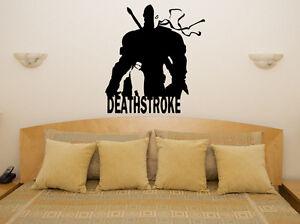 DEATHSTROKE-Supervillan-CoMIC-Ninos-Infantil-Adhesivo-para-dormitorio-pared