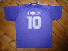 """large """"Laudrup 10"""" REAL MADRID SHIRT JERSEY CAMISETA MAILLOT MAGLIA 1992"""