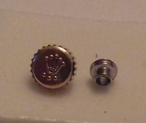 stem for Rolex//Tudor insert 5.2mm 5.9mm 7 mm gold//silver metal Crown Winder