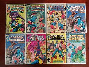Marvel Comics Captain America #254 267 276 285 294 299 300 Key Comic 8 Book Lot
