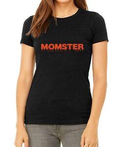 Bella-Momster-Shirt-Halloween-Funny-Mom-Mama-Gift-Fall-T-Shirt-Women-039-s-Gift-Tee