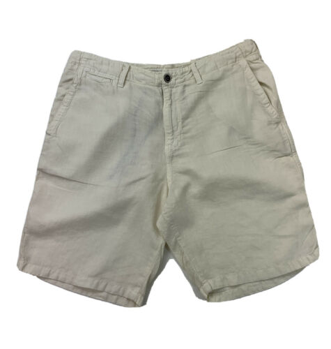 Lucky Brand Mens Size 36 Shorts Drawstring Button