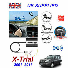 ForNissan X-Trial Bluetooth Hands Free Phone AUX Input MP3 USB 1A Charger Module