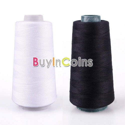 3000M Yards Overlocking Sewing Machine Polyester Thread Metre Cones HFUS
