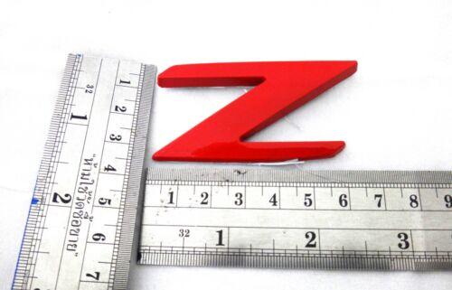"RED 3D REAR LOGO /"" Z /"" EMBLEM DECAL NEW ISUZU DMAX D-MAX 2012-2015 PICK UP TRUCK"