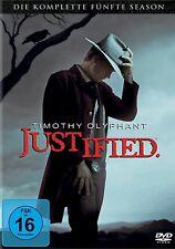 JUSTIFIED, Season 5 (Timothy Olyphant) 3 DVDs NEU+OVP
