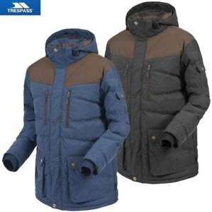 TRESPASS-hommes-Berge-Coldheat-isole-VESTE-REMBOURREE