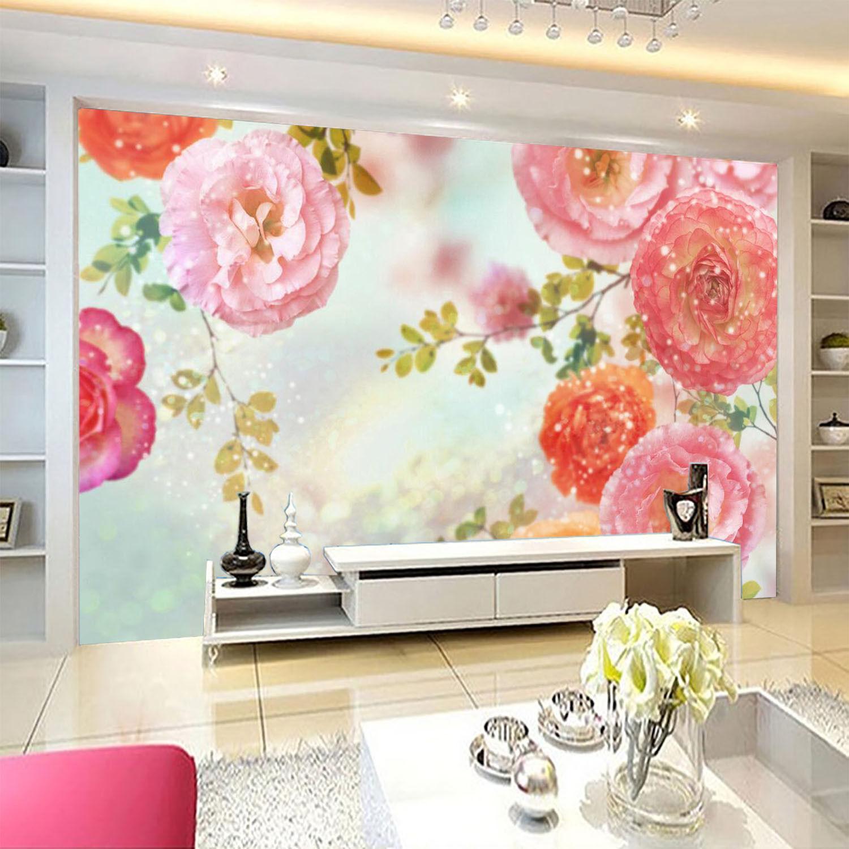 3D Jasmin Beau 63 Photo Papier Peint en Autocollant Murale Plafond Chambre Art