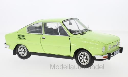 Skoda 110r Coupe 1980 Vert Clair - 1 18 Abrex    NEW