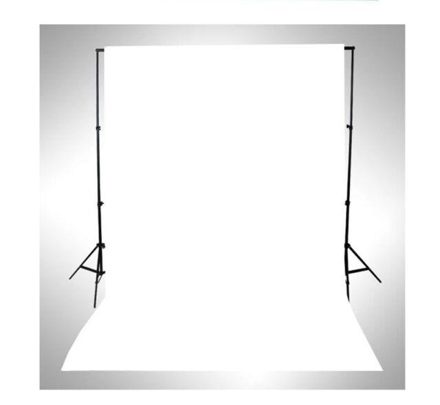 WHITE Thin Vinyl Photography Backdrop Background Studio Photo Props 3x5ft