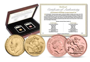 The Queen's 95th Birthday Sovereign Pair – JUST 95 Available