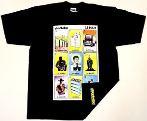 5569dd928 STREETWISE LA PLAZA T-shirt Loteria Mexican Card Game Adult Mens Tee ...
