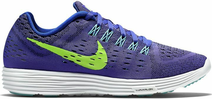 NIKE LUNARTEMPO WOMEN'S VIOLET/LIME/AQUA RUNNING SHOES Price reduction Brand discount