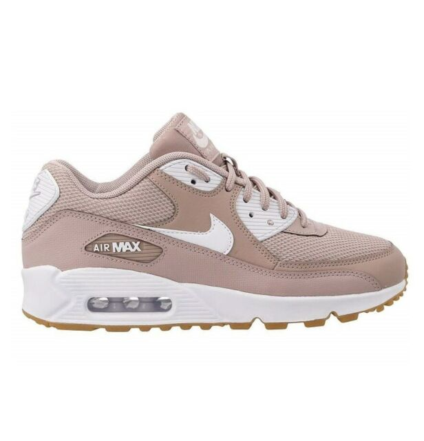 Nike Air Max 90 Womens 325213 210 Diffused Taupe Gum Running Shoes Size 6