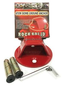 MOTORCYCLE-RS-GROUND-WALL-ANCHOR-MOTORCROSS-ATV-QUAD-SCOOTER-MOPED-SECURITY-KIT