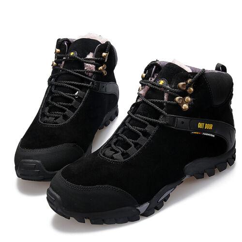 Men Waterproof Hunting Hiking Shoes Outdoor Trekking Velvet Climbing /& Fishing