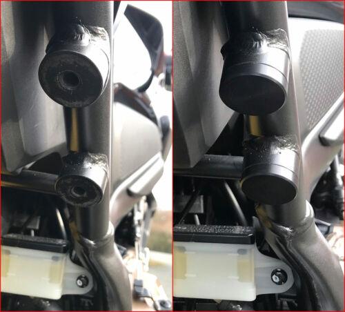 BRUUDT Fußrastenabdeckung für Honda CB650R  CB 650 R Footrest Blanking Plate