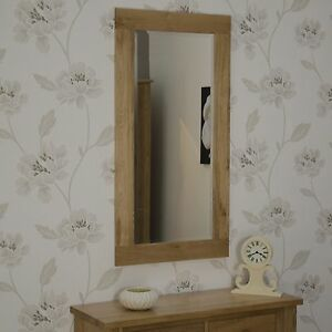 Nero-solid-oak-furniture-living-room-bathroom-bevelled-glass-wall-mirror