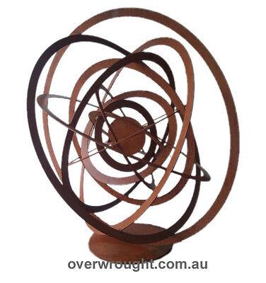 Sol Abstract metal Garden Art Sculpture - Handmade in Australia