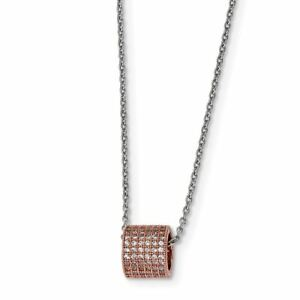 Jewelry Necklaces Necklace with Pendants Sterling Silver and CZ Brilliant Embers Necklace