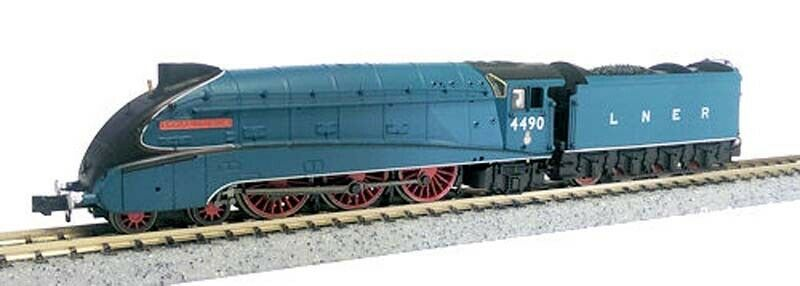 Dapol A4 Valanced 4490 Empire of India LNER Garter blu N Gauge DA2S008009