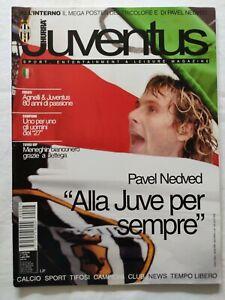 HURRA-039-JUVENTUS-N-7-LUGLIO-2003-POSTER-SCUDETTO-E-PAVEL-NEDVED-AGNELLI