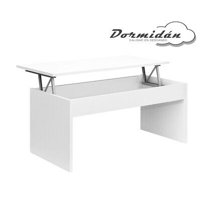 Mesa de centro elevable MC-5, salon / comedor, mayor grosor y estabilidad