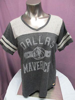 Sportique Damen Nba Dallas Mavericks Basketball Triblend Shirt M,l,xl ZuverläSsige Leistung Fanartikel Weitere Ballsportarten