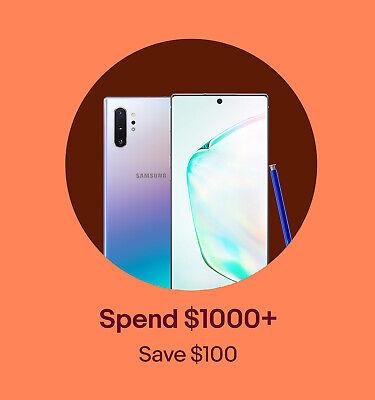 Spend $1000 Save $100