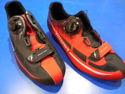 Shoes Racing Bicycle Vittoria Fusion 36-46 Road Bike Shoes Made in Italy