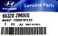GENUINE Front Fender Bracket Right Passengers 2010-2016 Genesis Coupe 663282M000