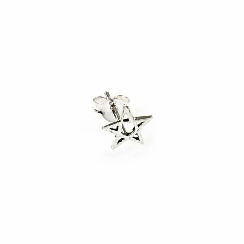 925 Sterling Silber OHRSTECKER SINGLE//PAAR Rockabilly Gothic Schmuck Ohrpiercing