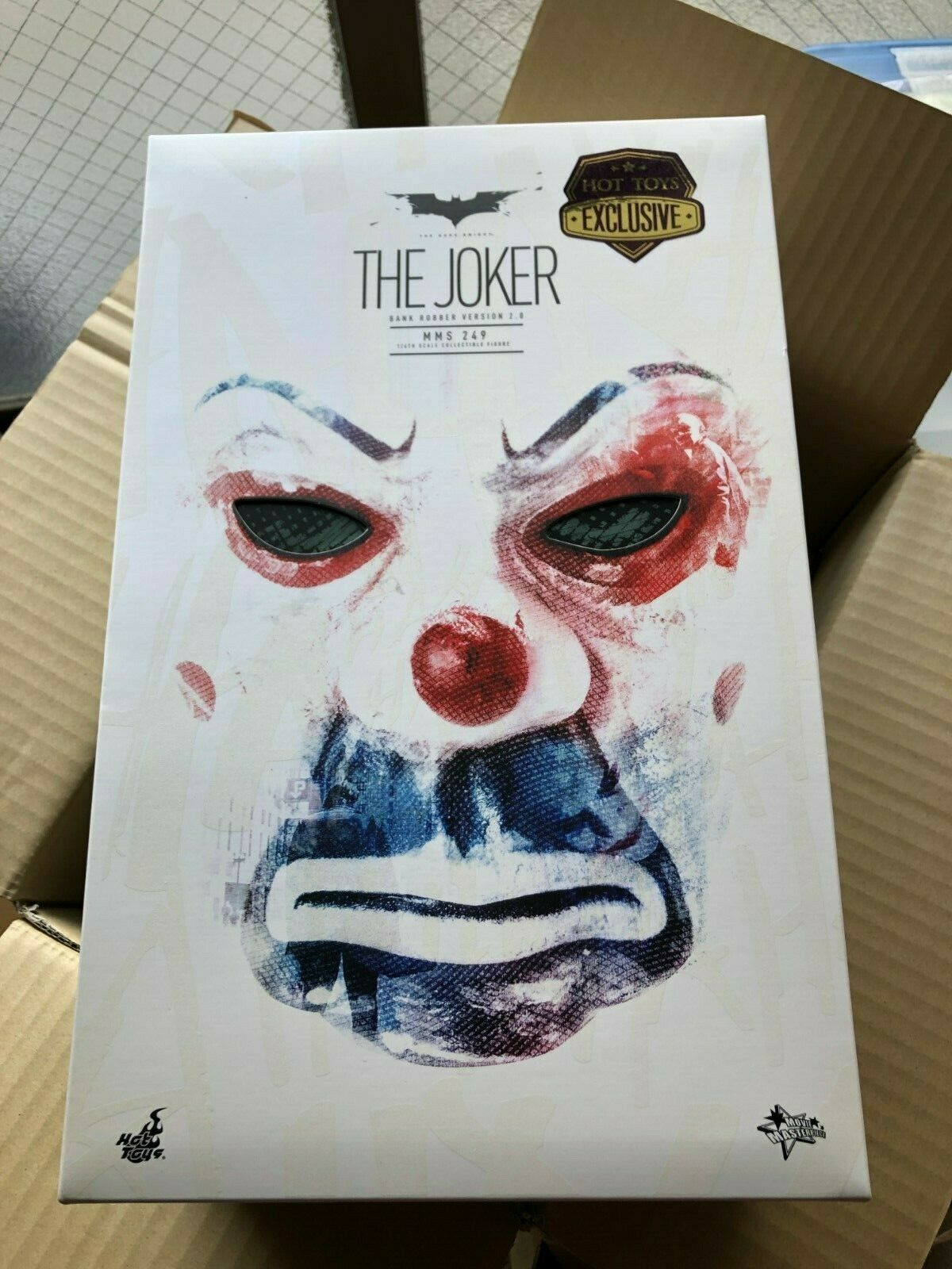 MMS249 caliente giocattoli 1  6 The Dark Knight TDK The Joker Bank Robber 2.0  Mint   negozio outlet