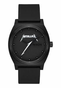 Nixon-Watch-Time-Teller-All-Black-Metallica-A045-3333