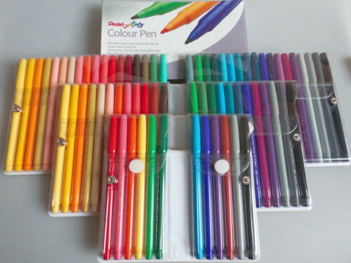 Pentel Faserschreiber Arts Colour Pen S360 Sets Filzstifte Illustration Grafiken