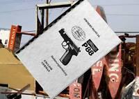 Walther P88 Pistol 9mm Gun Owners Manual P 88 English/german