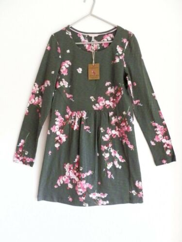 36 Joules Floral 8 Dress Jersey Green qx8nvw8Y