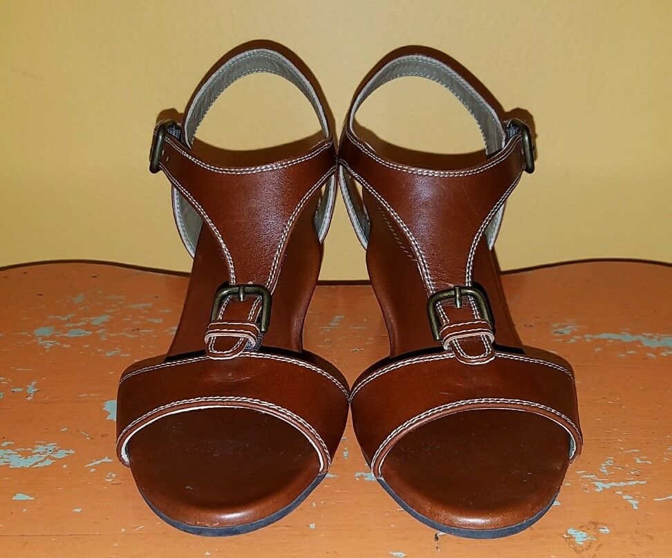 Anyi Lu Wedges Shoes Open Toes Women Size 37.5